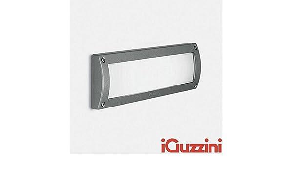Plafoniere Per Esterno Guzzini : Iguzzini walky 7131 incasso a parete per esterno 18w nero: amazon.it