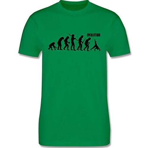 Evolution - Turnen Evolution - Herren Premium T-Shirt Grün