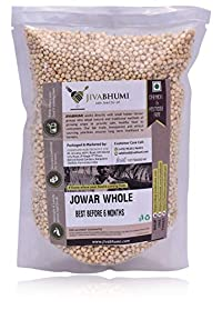 Jivabhumi Organic Jowar Whole, 1 kg