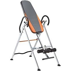 Gorilla Sports Table d'inversion pour entraînement du Dos