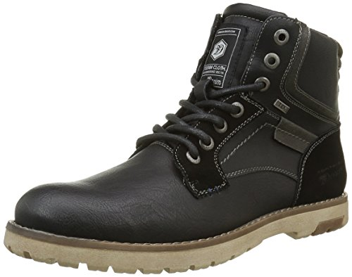 tom-tailor-mens-1685803-warm-lined-short-shaft-boots-and-bootees-black-size-9