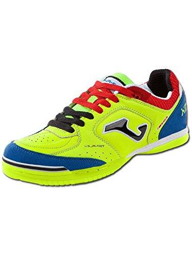 Joma Top Flex 711 Fluor Indoor - Scarpe Calcetto Uomo - Men's Futsal Shoes- Size ( EU 40 - CM 25.5 - Uk 6 )