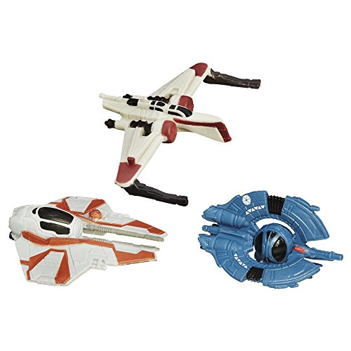 Star Wars Revenge of the Sith Micro Machines 3 Units Clone Fighter Strike