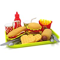 AGLKH Education Toy For kids Gifts 4 Style Children Kitchen Toys Play House Toy Plastic Drink Food Kit Kat Pretend Play Early,C