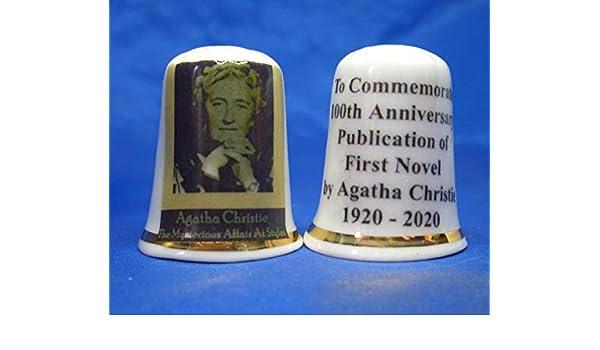 Jahrestag Porzellan-Fingerhut Gratis Box Agatha Christie zum 100