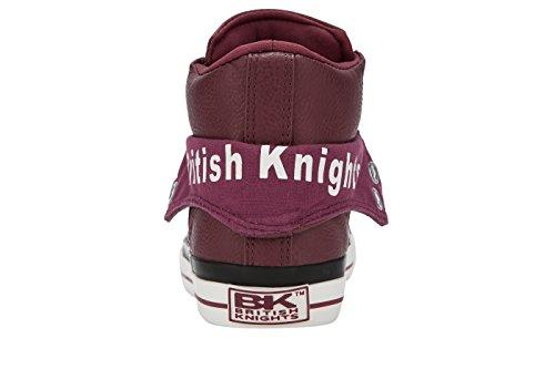 British KnightsROCO - Scarpe da Ginnastica Basse Uomo Rosso