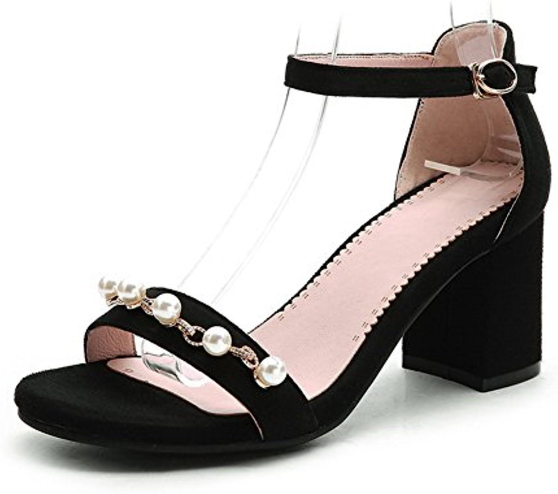 @Sandals La Nueva Version Coreana Tiene Una Baja Cabeza, Fondo Plano, Un Dedo, Y Zapatillas De Punta,Treinta Y... -