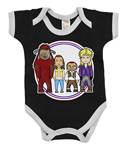 VIPWees Babys Unisex Goblin Maze TV und Film Karikatur Babygrow