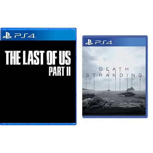 The Last of Us Part II [PlayStation 4] & Death Stranding - [PlayStation 4]