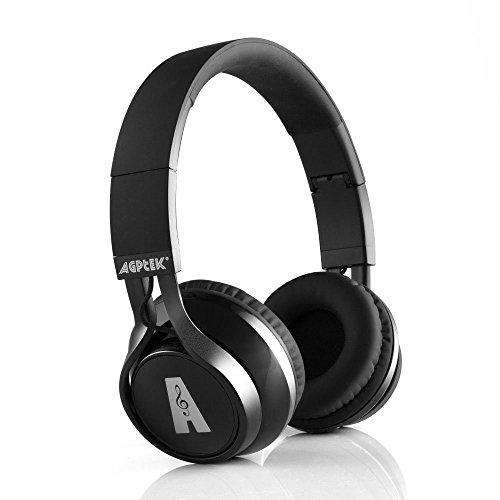 Auriculares Bluetooth, AGPtek Casco Inalámbrico de Diadema Manos Libr