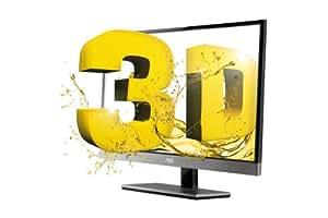 AOC D2357PH 58,4 cm (23 Zoll) Monitor (VGA, HDMI, 2ms Reaktionszeit) hochglanz schwarz-silber