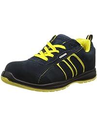 Gants De Travail Reis Chaussures De Sécurité S3 Goodyear Couverture En Cuir Jaune Unique Acier Mme, Jaune, Taille 39