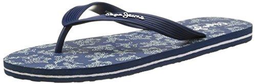 Pepe Jeans Hawi Liberty, Tongs homme Bleu (585 Marine)