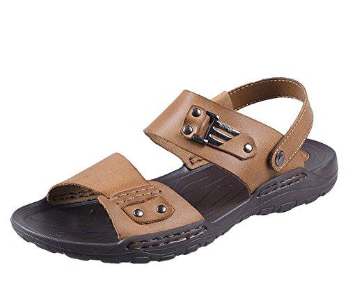 insun-herren-leder-kleid-riemen-sandale-braun-khaki-grosse-435