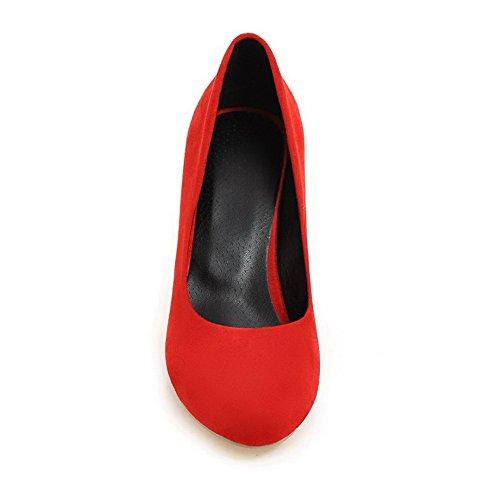 Balamasa - Sandalias Con Cuña Para Mujer Rojo