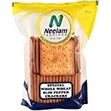 Neelam Foodland Special Whole Wheat Slim Pepper Crackers, 130g