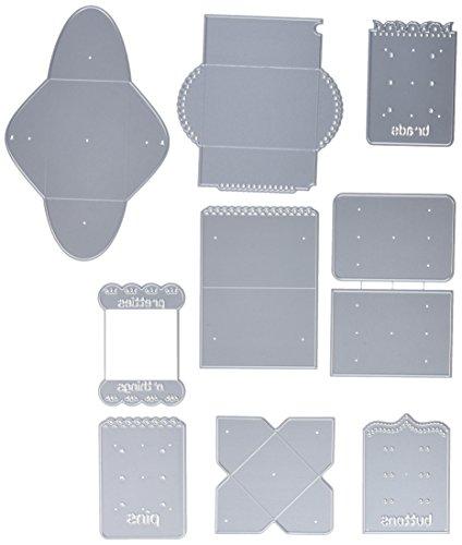 Scor-Pal Pocketpenpals Die Bundle 9/Pkg-Kits A, B & C, Plus A Bonus Die