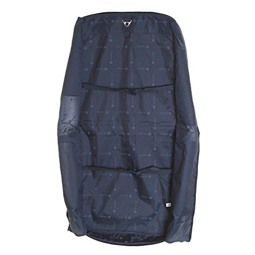 Karabar Salisbury Traje compacto / portador de prendas de vestir, Negro
