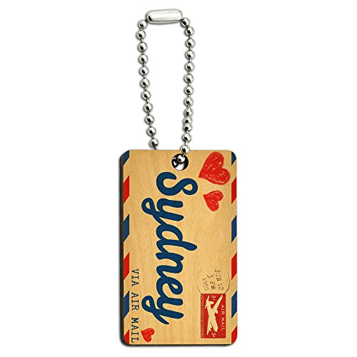 air-mail-postcard-love-for-sydney-wood-wooden-rectangle-key-chain