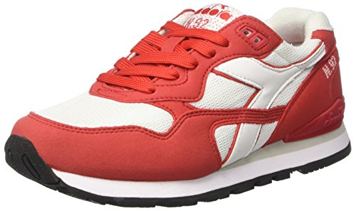 Diadora N-92, Sneaker Bas du Cou Mixte Adulte Rouge (Rosso Tomato)