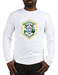 CafePress - Chicago PD Pipes & Drums - Unisex Cotton Long Sleeve T-Shirt