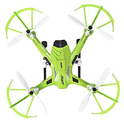 Koiiko JJRC H26D FPV Headless RC Drone 4CH R/C Quadcopter RTF Ready-To-Fly Aircraft 6-Axis Gyro Helicopter UAV with 2.4G Remote Control & HD 3MP 120 Degree Wide Angle Camera & Brilliant LED Lighting