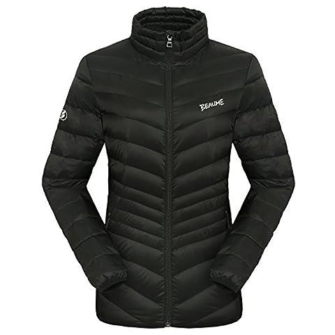 Beaume Damen Winterlicht Gewicht Gänsedaunen Jacke Mantel