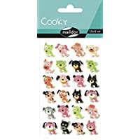Maildor Cooky Sticker Sheet, Domestic Animals - Dogs