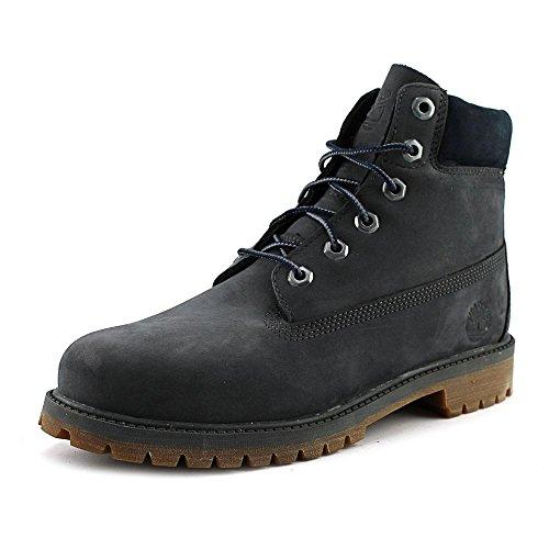 Timberland 6 Inch Classic Boot Youth Dark Grey Nubuck 38 EU