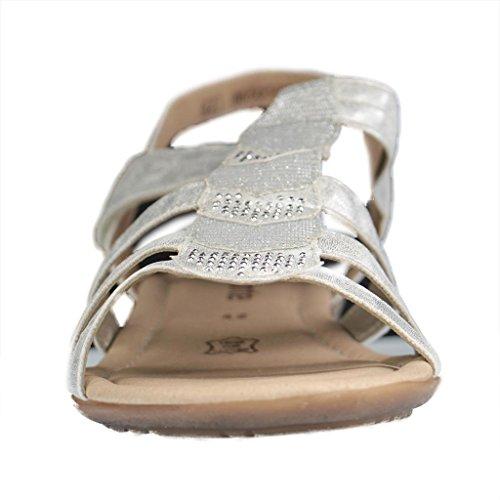 Donna Sandali silver/platin argento, (silver/platin) R3637-80 silver/platin