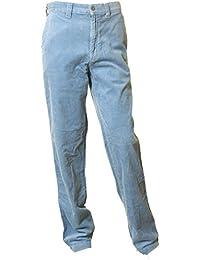 Hose DOCKERS velours gerippt große rippen - 100% baumwolle - Himmelblau Marineblau W30 W31 W32 W33 zum auswahl