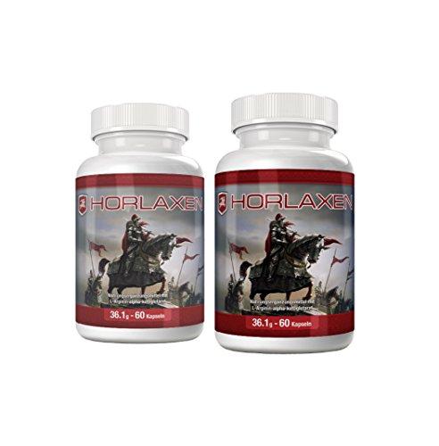 Horlaxen - Muskelaufbau-Pille für effektives Muskelwachstum und Fettabbau | Jetzt das 2 Flaschen-Paket mit Rabatt kaufen | (2 Flaschen) (Pille Flasche)