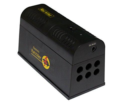 Proud Vision Elektrische Rattenfalle Mausefalle Batterie- und Strombetrieb