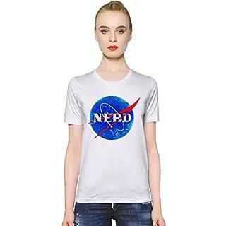 Nasa Funny Logo Nerd Womens T-shirt Small