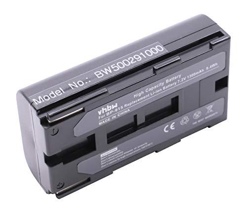 vhbw BATERÍA Compatible con Canon C2 / DM-MV1 / DM-MV10 / DM-XL1 etc. sustituye BP-911 / BP-914 / BP-915 / BP-924 / BP-927 / BP-930 / BP-941 / BP-945