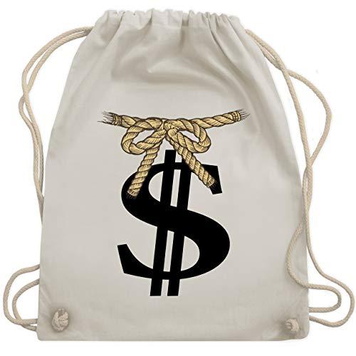Turnbeutel - Dollar Geldsack - Unisize -