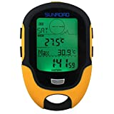 Docooler LCD Altimetro Digitale Multifunzione Barometro Bussola Termometro Igrometro Previsioni Meteo