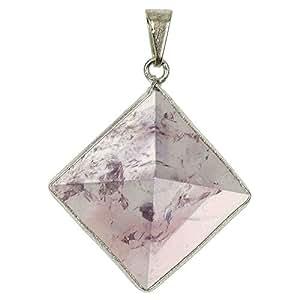 Naturosphère - Bijoux naturels C17 - Pendentif pyramide en améthyste