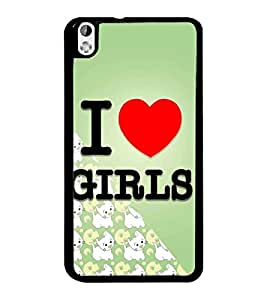 PrintDhaba Quote D-4346 Back Case Cover for HTC DESIRE 816 (Multi-Coloured)