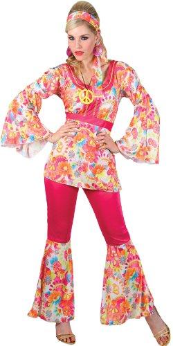 Imagen de hippy  disfraz de hippie para mujer, talla l ef 2112. l  alternativa