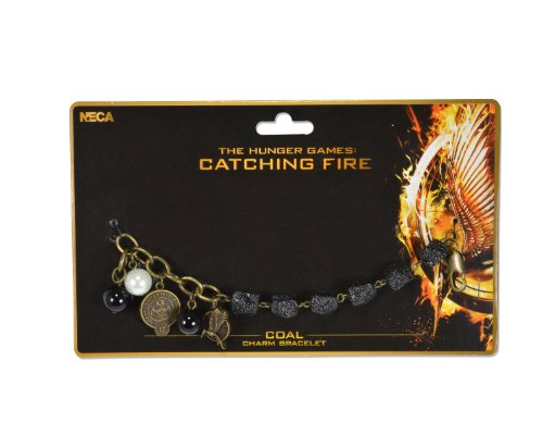 The Hunger Games - Armband Catching Fire - Coal (in One Size)
