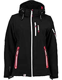 Geographical Norway Tempete–Chaqueta para mujer, color negro, tamaño XL
