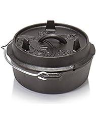 Petromax olla - Equipamiento para cocinas de camping - sin patas/ft 3 negro 2017