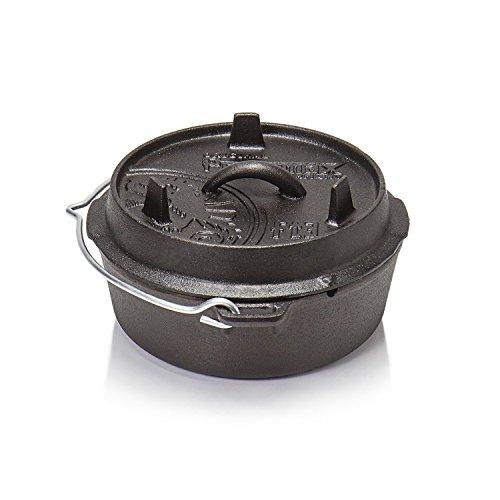Petromax Feuertopf ft3 (Dutch Oven) (planer Boden)