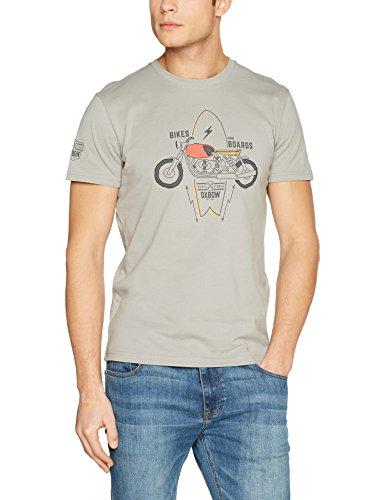 Oxbow J2 Thundor, T-Shirt Uomo cemento