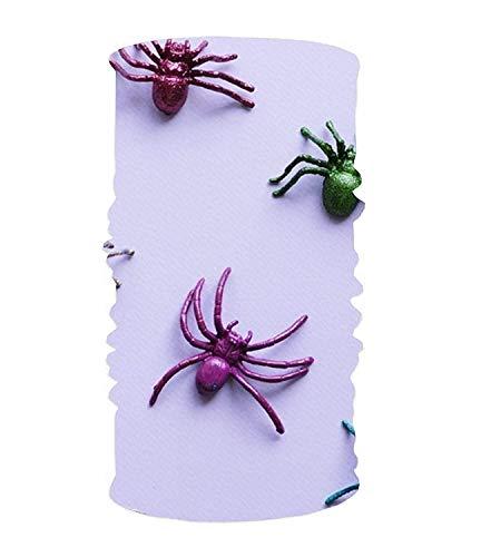 CHSUNHEY Stirnbänder Haarschmuck,Colorful Spider Elastic Cool Seamless Magic Scarf Headband,Face Mask,Balaclava Bandana UV Resistence Sport Headwear for Outdoor Sports
