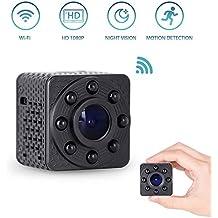Mini Cámara Espía 1080P HD WiFi Voz Bidireccional Detección de Movimiento  con Visión Nocturna Cámara Oculta f031944a91