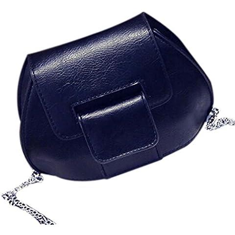 Kingko® Pelle catena di moda del sacchetto del messaggero delle
