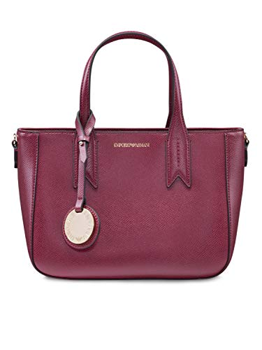 Emporio Armani SHOPPING BAG Y3D083 YH15A BORDEAUX/PIETRA