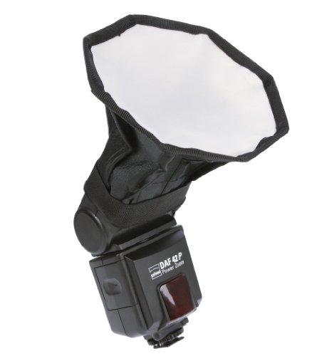 DÖRR Blitzvorsatz Mini Octagon Softbox 13,5 cm (5,3 Zoll) für Aufsteckblitze